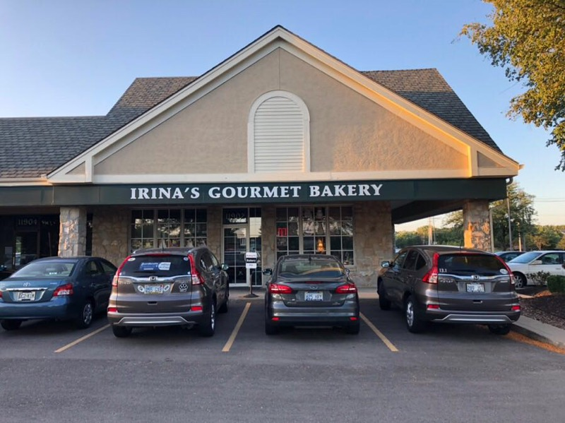 Irina's Gourmet Bakery THS Investments Stoll Park Overland Park 119th street and Quivera